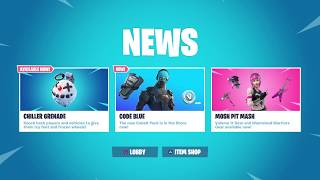 GIVEAWAY SOON | NEW STARTER PACK SKIN | CONSOLE PLAYER FORTNITE LIVE
