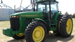 Machinery Pete: 1995 John Deere 8300 Tractor with 2,111 Hours