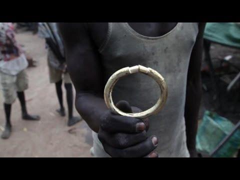 South Sudan's 'bullet bangle' blacksmiths face uncertain future