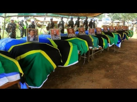 Tribute paid to UN peacekeepers killed in DR Congo