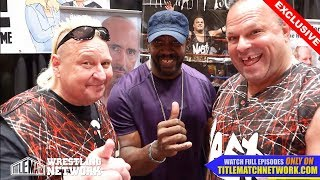 Nasty Boys - April 2018 Interview with Stevie Ray (Harlem Heat) - Wrestlecon