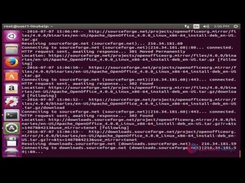 How To Install Apache Open Office In Ubuntu