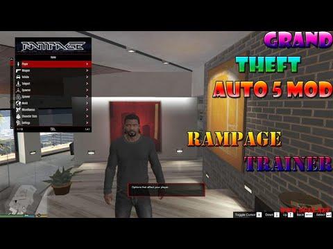 Rampage Trainer GTA5