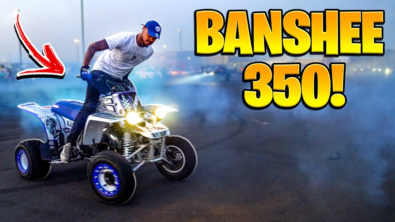 BANSHEE 350 TAKES OVER PHILLY STREETS ! ( RIDEOUT ) | BRAAP VLOGS