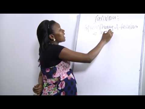 Introduction To Taxation  lesson 1 ( learn Taxation in 50 minutes )