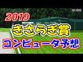 2019年 きさらぎ賞  コンピュータ予想   実力重視設定《競馬シミュレーション予想》