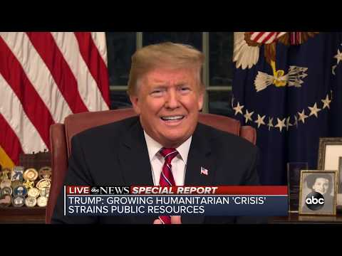 President Trump addresses government shutdown and Democratic Response Mp3