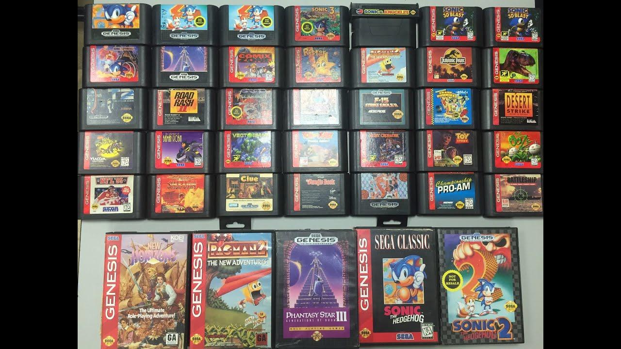 Huge Sega Genesis Game Haul for Cheap! -Pick Ups #15 - YouTube