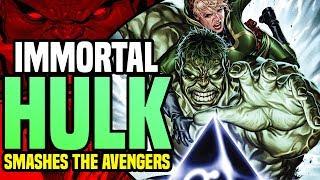 Immortal Hulk Smashes The Avengers: The Return Of The Bruce Banner Hulk  ( Avengers No Surrender )