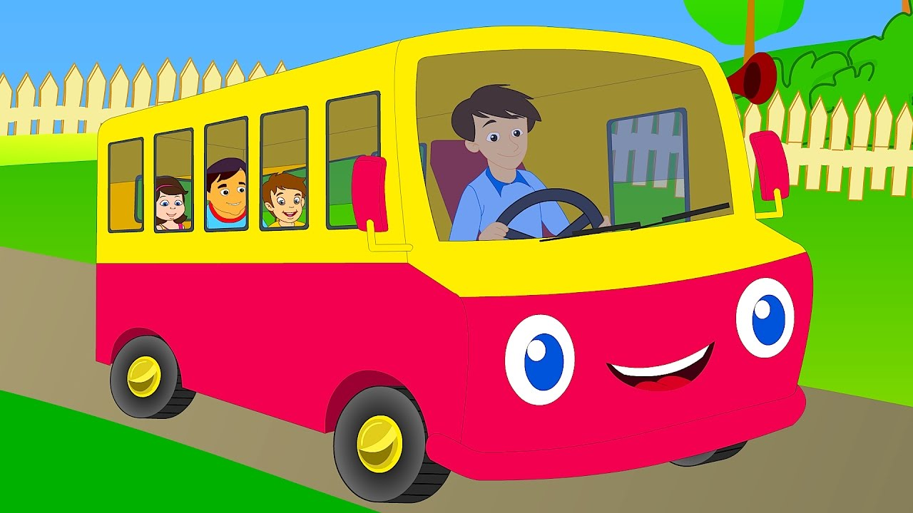 Wheels On The Bus Go Round And Learn Transport Vehicle S You