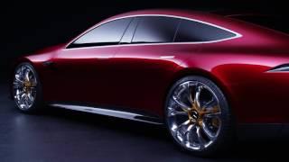 Mercedes AMG GT Concept видео о дизайне автомобиля