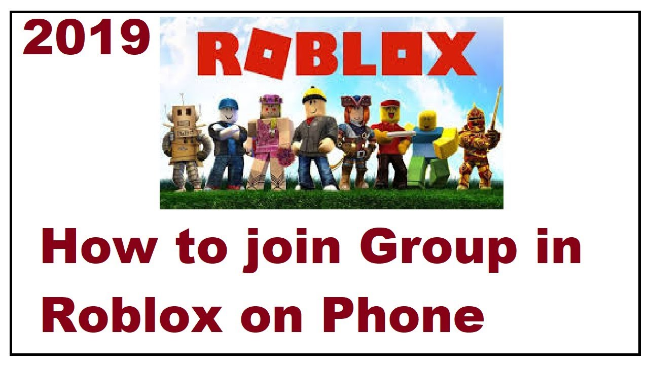 Roblox Cant Join Groups How To Join A Group In Roblox 2019 Youtube