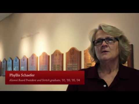 Contributions to Stritch Annual Fund allow students to attend college