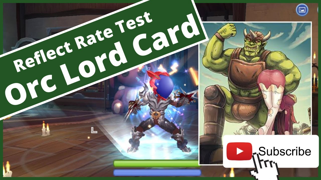 RAGNAROK MOBILE : PALADIN WITH ORC LORD CARD