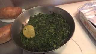 Camilla's Famous Fried Collard Greens - A family recipe