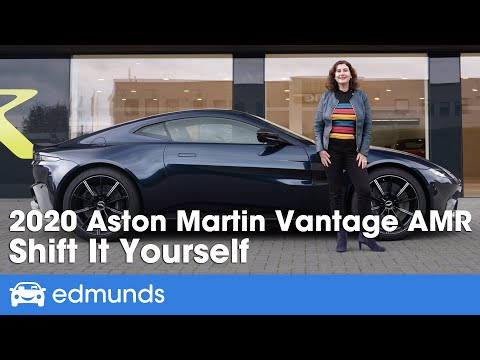 2020 Aston Martin Vantage AMR Manual Review & Test Drive