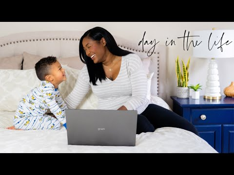 Day In The Life Of A Work At Home Mom - Female Entrepreneur Life