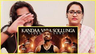 Kandaa Vara Sollunga REACTION | KARNAN | Dhanush | Santhosh Narayanan | SWAB REACTIONS