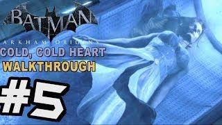 Batman: Arkham Origins - Cold Cold Heart DLC Walkthrough Part 5 Mr Freeze Murder & Boss Battle