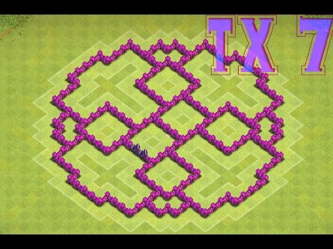Лучшая база для тх 9 clash of clans для кв 2016