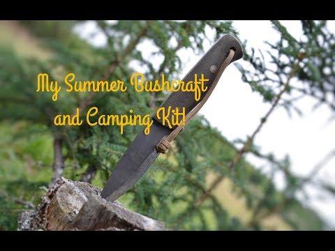 My 2017 Summer Alaskan Bushcraft Camping Kit