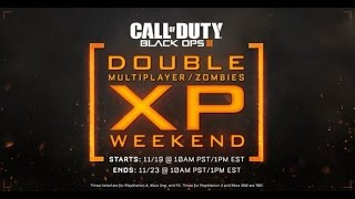 Black Ops 3- Double XP! Early Multi/zomb ( Start Now)