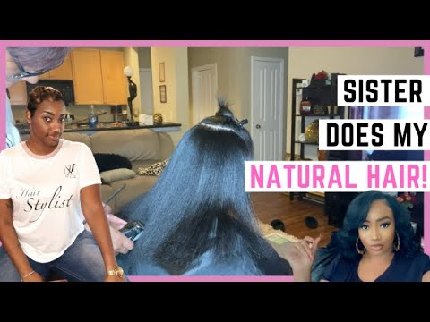 Sister Styles My Natural Hair| Black-Owned Business| BookedWithChloe Black Hairstylist Charlotte NC