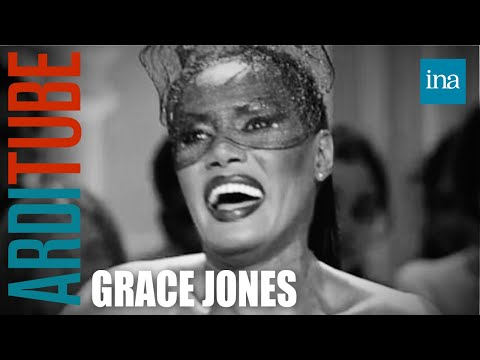Interview biographie Grace Jones - Archive INA