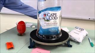 Vacuum Chamber: Air pressure demonstration