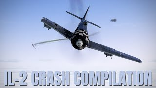 Airplane Crashes, Emergency Landings & Explosions! V174 | IL-2 Sturmovik Flight Sim Crashes
