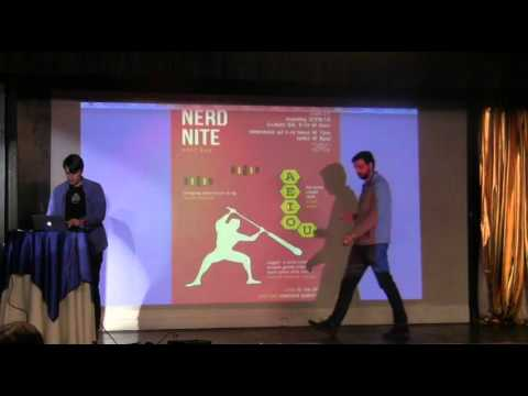 Nerd Nite East Bay #39: Great Vowel Shift, Bee Habitats, and Jugger