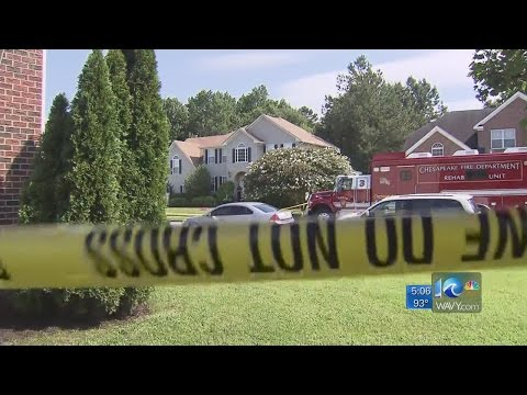 Police search Chesapeake home where detective and son were killed