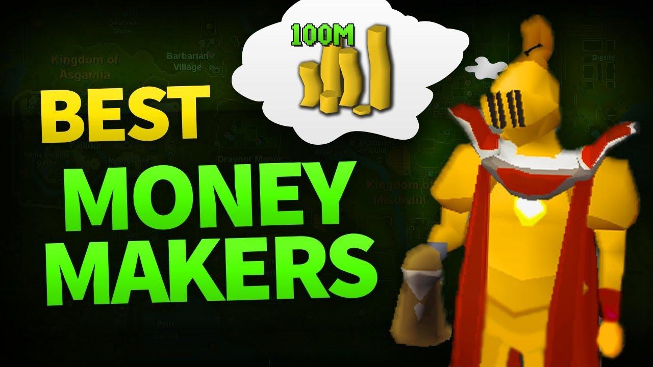 OSRS: Best F2P Money Making Methods 2019