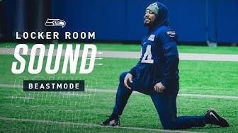 The Return of Marshawn Lynch   Locker Room Sound