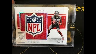 2017 Panini Encased Football 8 Box Full Case Break #1 NFL SHIELD!!!