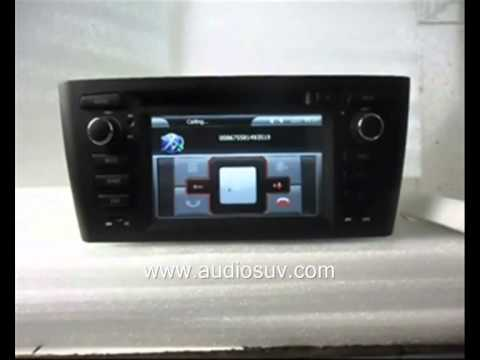 bmw e81 e82 e87 e88 dvd player gps navigation tv bluetooth. Black Bedroom Furniture Sets. Home Design Ideas