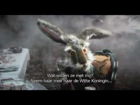 Alice In Wonderland March Hare 'Spoon' Trailer (NL Subs)