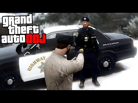 GTA 5 Roleplay - DOJ 13 - Citizens Arrest