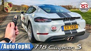 Porsche 718 Cayman S REVIEW POV Test Drive by AutoTopNL