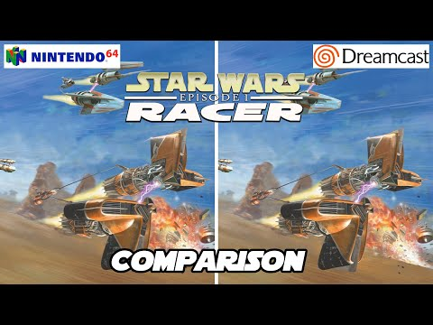 Star Wars Episode I: Racer - Nintendo 64/Dreamcast - Comparison |