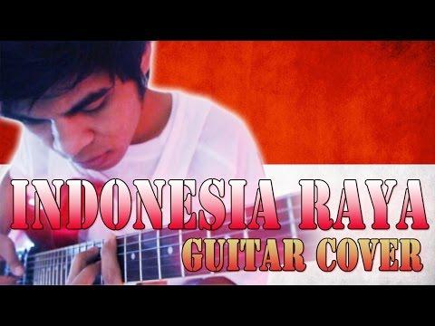 Lagu Indonesia Raya Versi Rock Guitar Cover By Mr. Jom