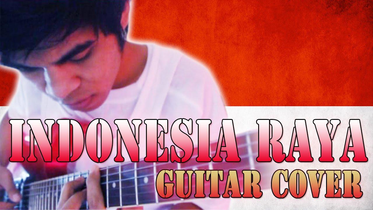 Lagu Indonesia Raya Versi Rock Guitar Cover By Mr Jom Youtube