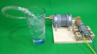 Chế MÁY SỤC KHÍ từ ống nhựa PVC