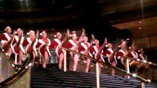 Christmas 2013, Sexy Christmas Snow Girl Costumes, Sexy Santa Girl Dancers, Anthony TT