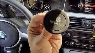 WizGear Twist-lock Air vent Magnetic Car Mount Holder for Phones | Review