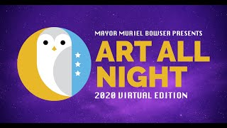 DC Art All Night : Virtual Edition - Friday Sept 25th