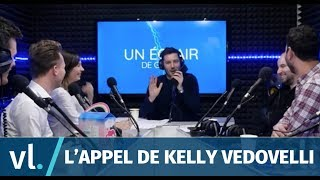 Maxime Guény appelle Kelly Vedovelli en direct !