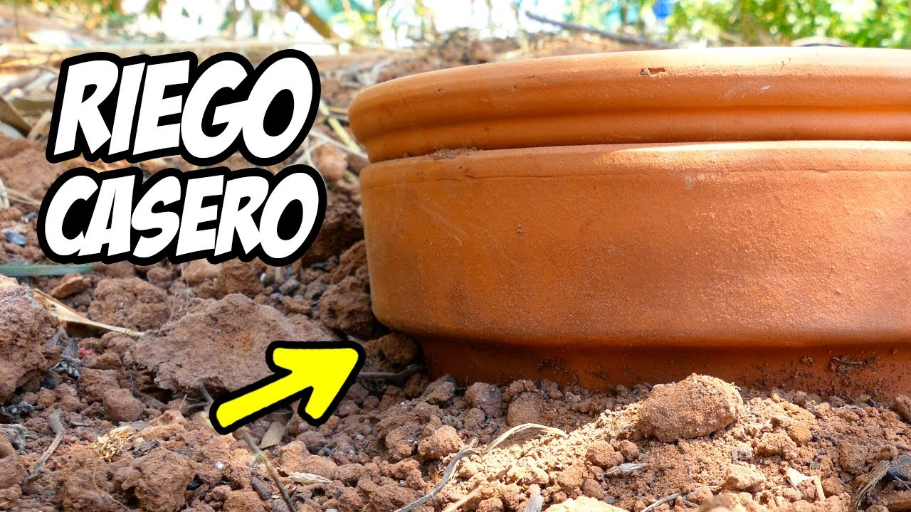 ¡SISTEMA DE RIEGO BAJO TIERRA! 😲 Lo Mejor para tus Plantas | La Huerta de Ivan