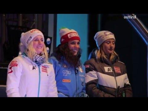 Ski World Cup Lienz 2015 Siegerehrung