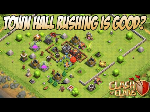 Why You Should Rush Your Town Hall In Clash Of Clans
